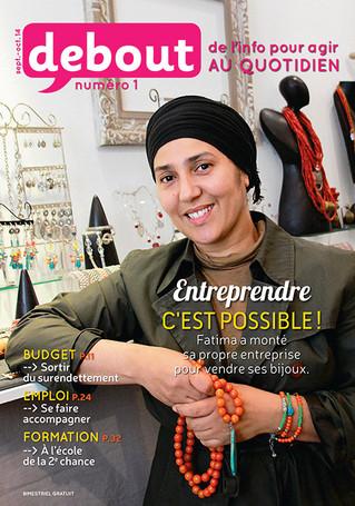 DEBOUT : le premier magazine solidaire.
