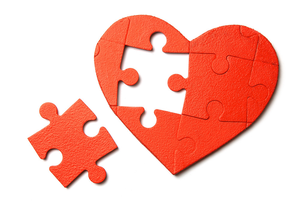 the missing piece to your heart