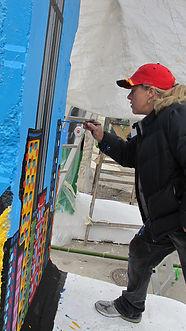 Lisa painting wall.JPG