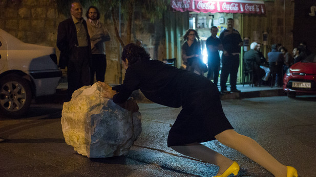 A Happening-A Stone on Road