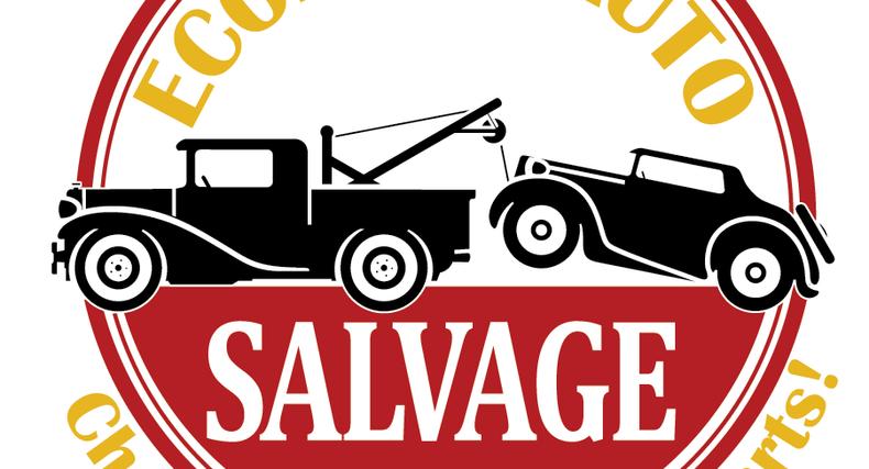 Economy Auto Salvage Logo