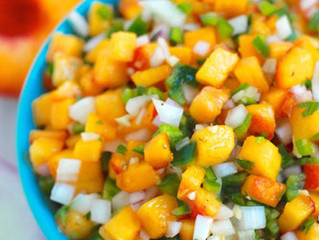 Quick & Easy Peach Salsa