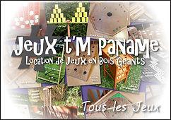 région parisienne Jeux en bois animation location paris