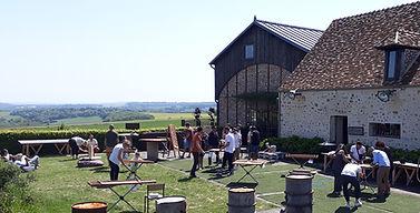 Domaine des bonnes joies 78 - Yvelines jeux en bois