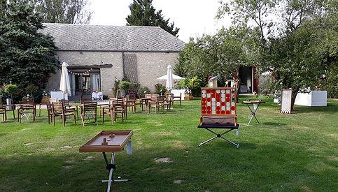 La ferme du Grand Chemin animation 95 Val-d'Oise Mariage kermesse Jeux en bois