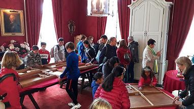 Chateau de Boury Jeux en bois Paris oise 60