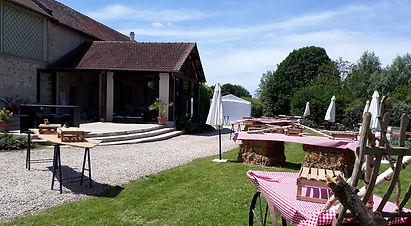 95 Val d'Oise Mariage Domaine de Brunel événement Jeux en bois