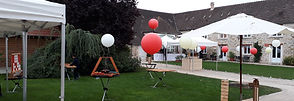 Le Nomade Lodge Ferme de la Boulaye 77 Seine et Marne Jeux de Kermesse Animation Mariage jeux en bois