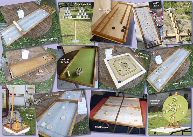 Animation : Les Jeux en bois