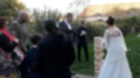 Mariage au Domaine de Mauvoisin (78, Lommoye) Jeux en Bois