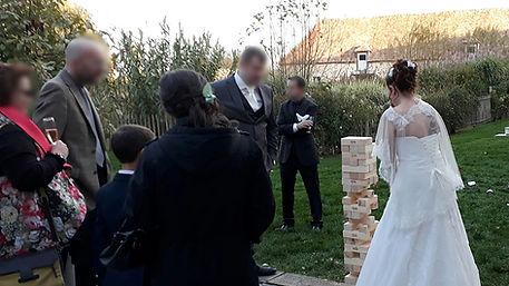 Mariage au Domaine de Mauvoisin Yvelines 78 Jeux en Bois Mariage Animation Kermesse