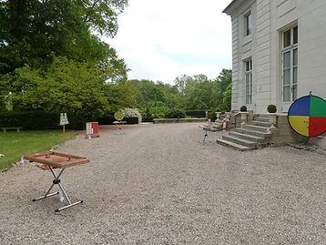 Château de la Chesnay Mariage au jeux en bois