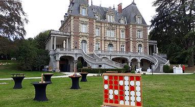 Château de Bouffémont Jeux en bois 95 Val-d'Oise Mariage