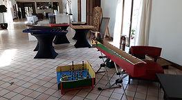 Domaine de Brunel 95 - Val-d'Oise Mariage événement Jeux en bois