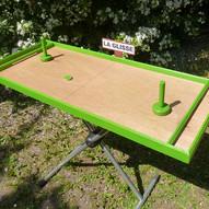 080 Table a Glisser verte