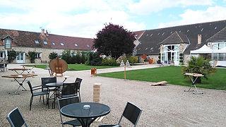 91 Le Nomade Lodge Essonne Ferme de la Boulaye Kermesse Jeux en bois Animation