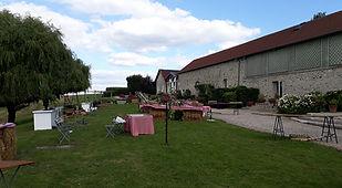 95 - Val-d'Oise Domaine de Brunel événement Jeux en bois Mariage