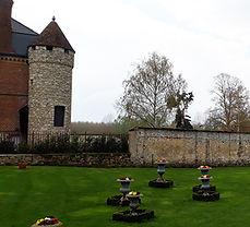 Abbaye de Froidmont  60 oise Mariage Jeux en bois