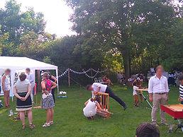 Ferme d'Orgeval Mariage Yvelines 78 Jeux en bois Jeux de Kermesse