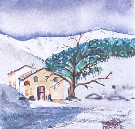 Home Under Snow