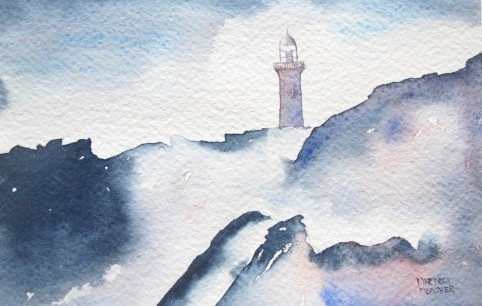 Lighthouse Faces Sea's Challenge