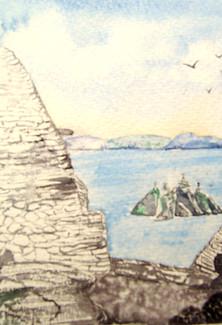 View from Skellig Mícheál