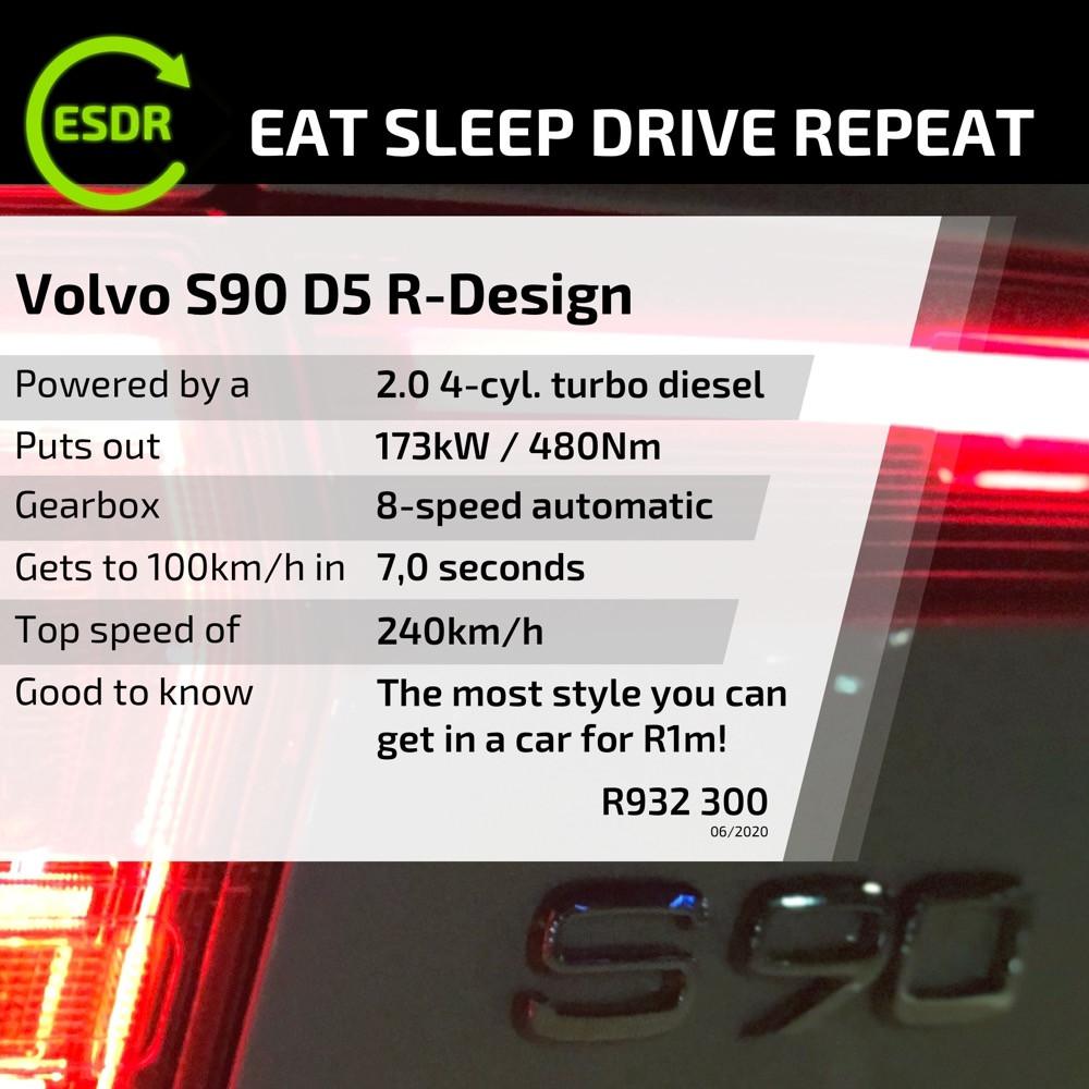 Volvo S90 D5 spec and price