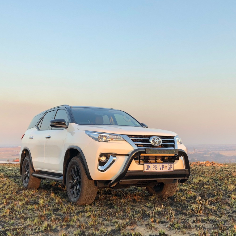 Car review Toyota Fortuner Epic Black SUV