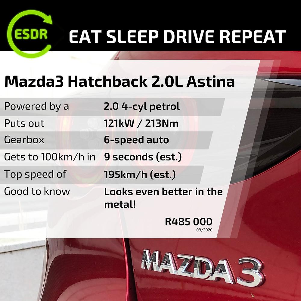 Mazda 3 Hatch spec and price