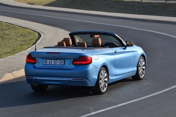 car review bmw m240i convertible