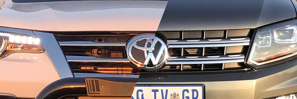 Toyota Fortuner Epic vs Volkswagen Amarok Dark Label