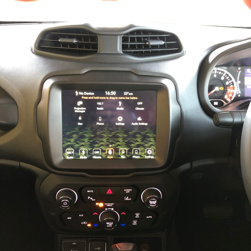 Car review Jeep Renegade Longitude crossover