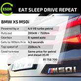 ESDR Spec BMW X5 M50i