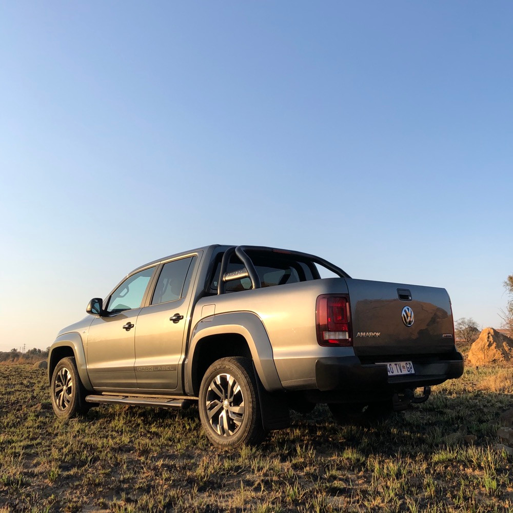 Car Review VW Amarok Dark Label