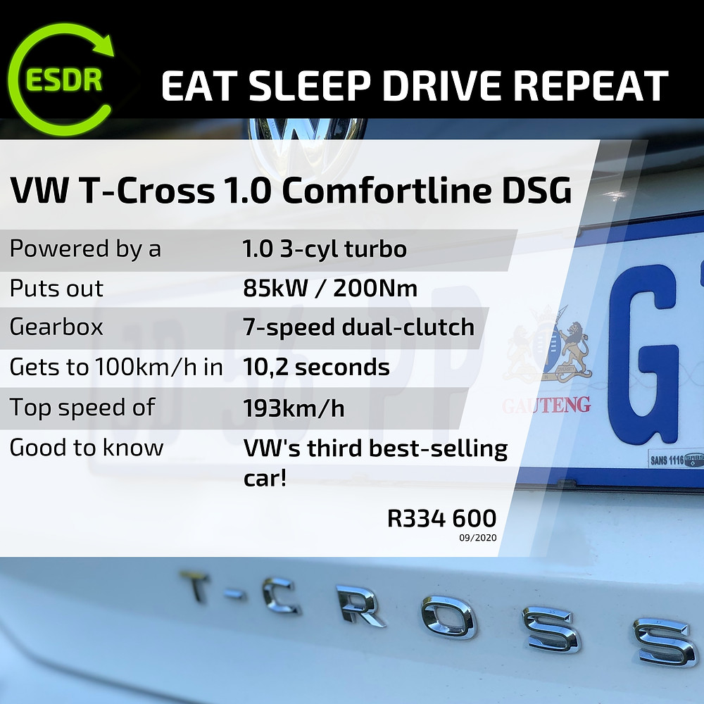 VW T-Cross 1.0TSI Comfortline DSG Crossover car review
