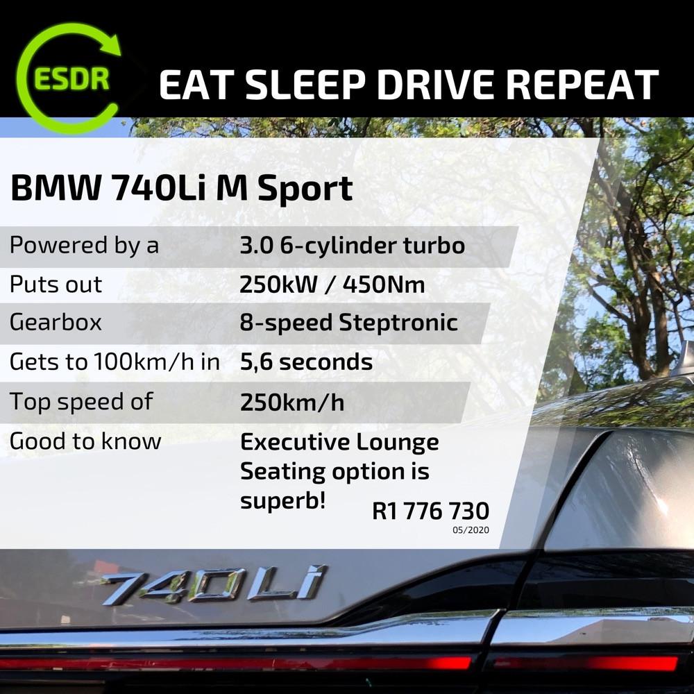 BMW 740Li spec and price