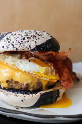 SPECIAL Black Tap Bagel Burger