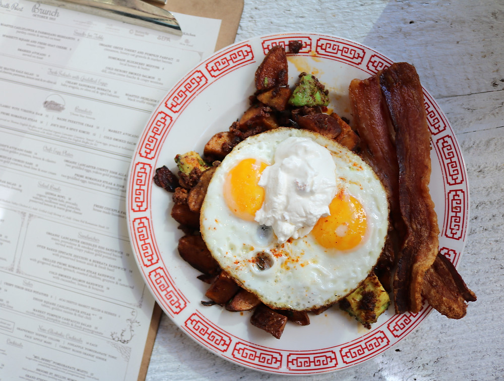 Eggs, Bacon, And Avocado From Chalk Point Kitchen