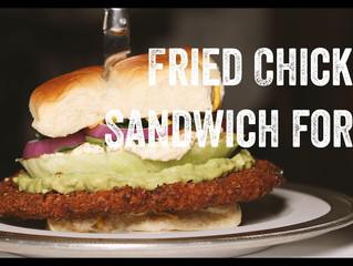 Fried Chicken Sandwich for 4!