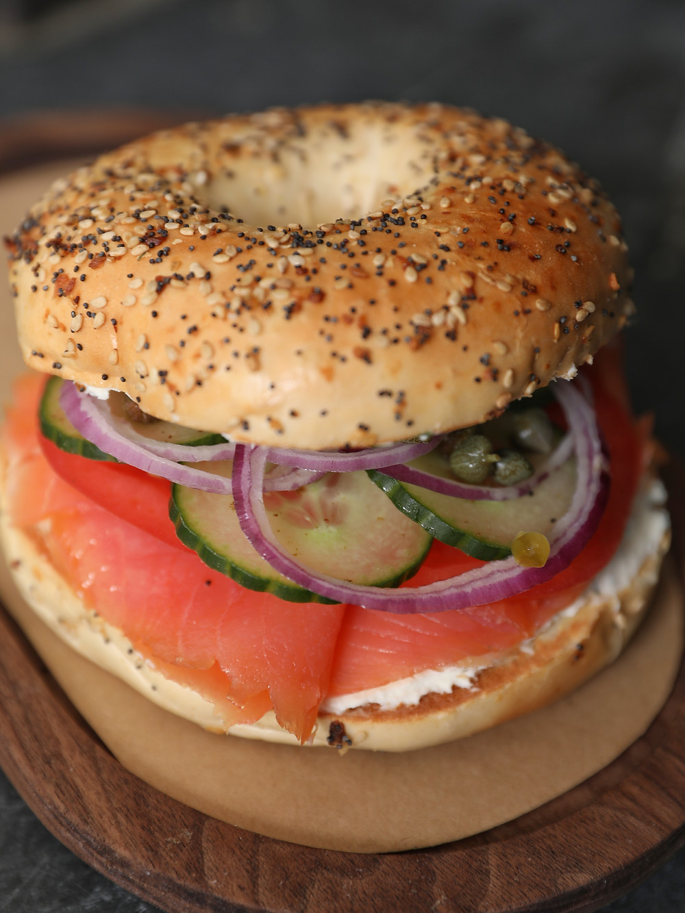 bowery road, everything bagel