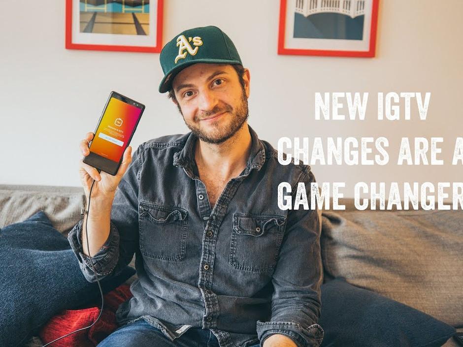 IGTV CHANGES
