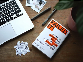 To Grow, We Must Fundamentally Change our Attitude About Failure