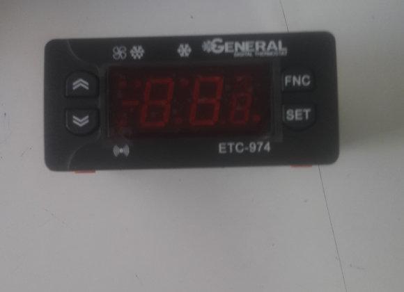 Dijital termostat general çift prop etc 974