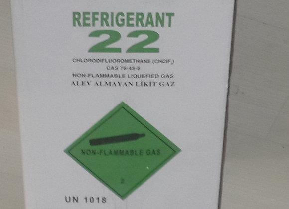 R 22 13,65 KG REFRIGRANT GAZ ORJİNAL