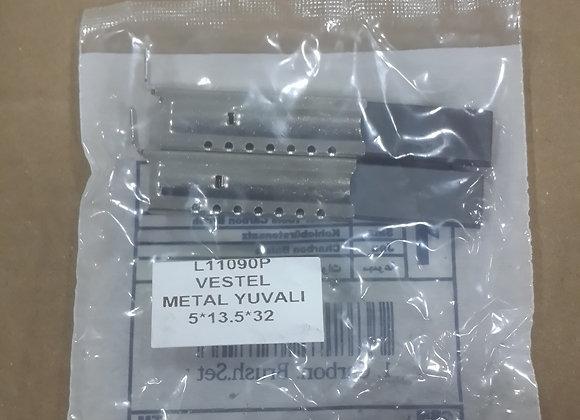 kömür metal yuvalı vestel ariston 5X13,5X32
