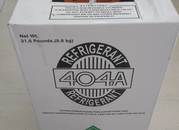 404a gaz 9,8 kg orjinal tüp