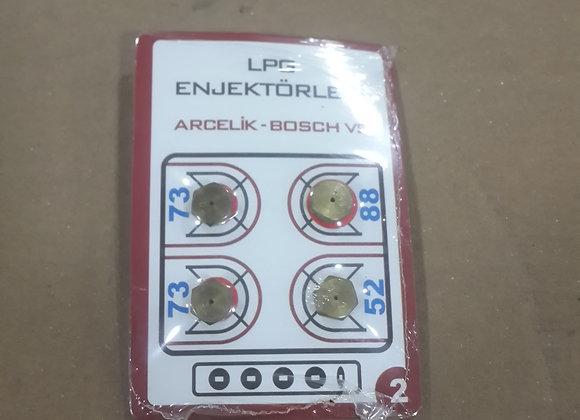 Enjektör arçelik 9 lokma