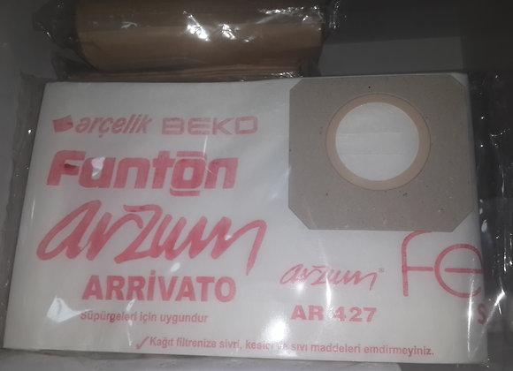 Fantrom kazanlı kağıt torba 10 lu