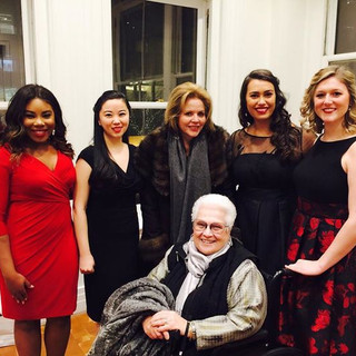 With the fabulous divas, Marilyn Horne and Renée Fleming, after singing in a master class for Ms. Fleming last night at Carnegie Hall.jpg