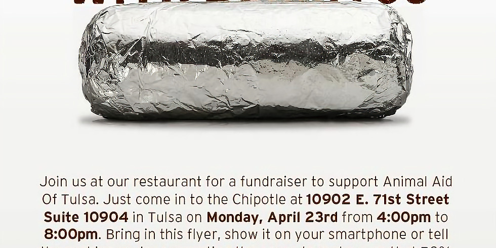 Guac On! Fundraiser at Chipotle!